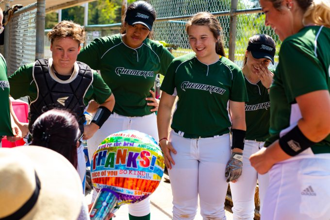 5/11/18–Chemeketa's Softball Sends Thanks