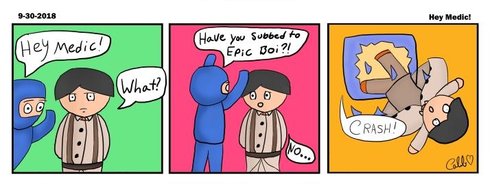 Comic Medic and Ninja