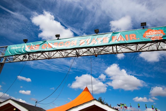 8/30/2018–The Oregon State Fair.