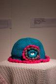 """""""Hat,"""" sewn by Minna Gelder."""