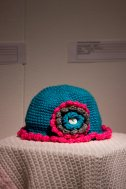 """Hat,"" sewn by Minna Gelder."