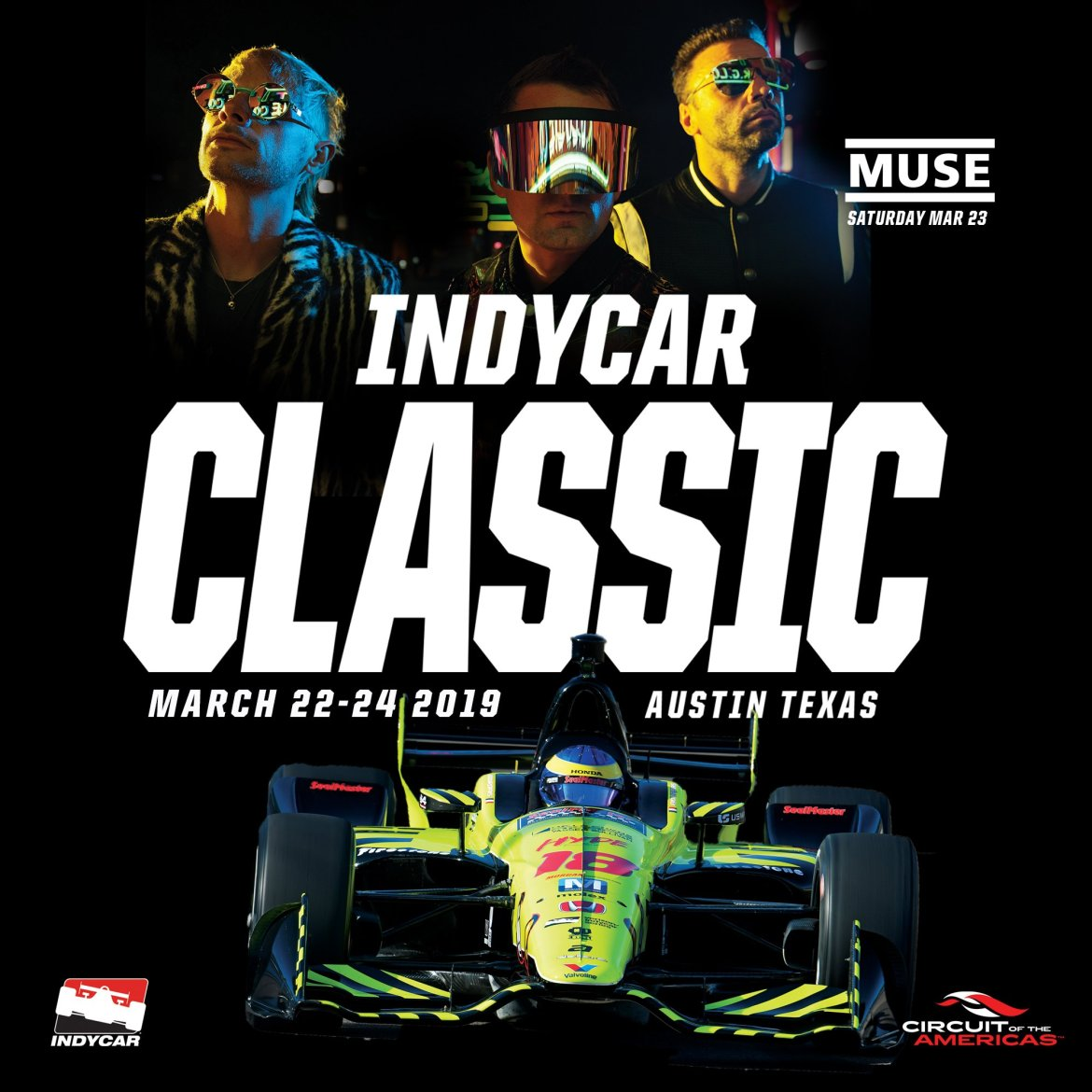 Muse to perform concert during COTA's inaugural IndyCarweekend