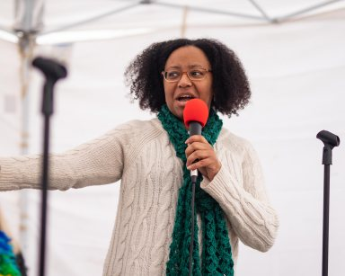 Shelaswau Busnell Crier previously ran for political office.
