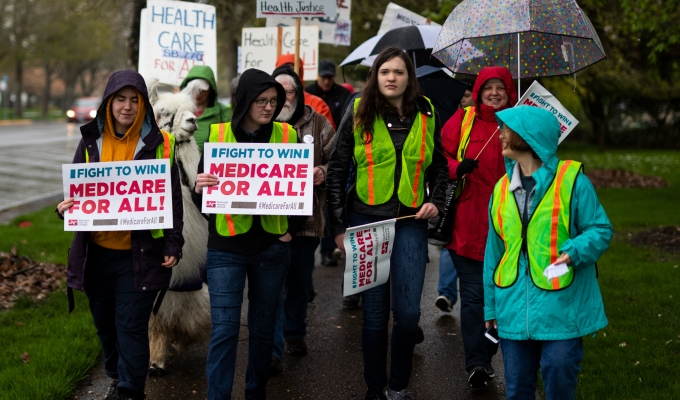 Medicare For All March and Rally