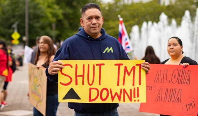 9-10-2019–KŪ Kiai Mauna Protest 30-meterTelescope
