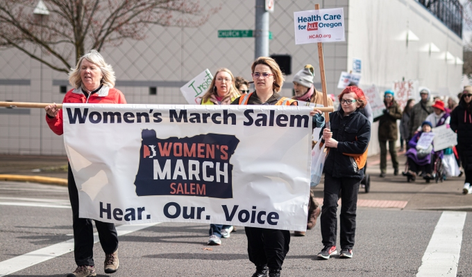 5-18-2020–Photos: Women's March Salem