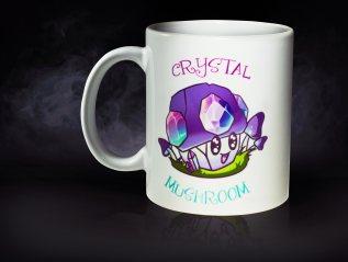 Crystal Mushroom Mug
